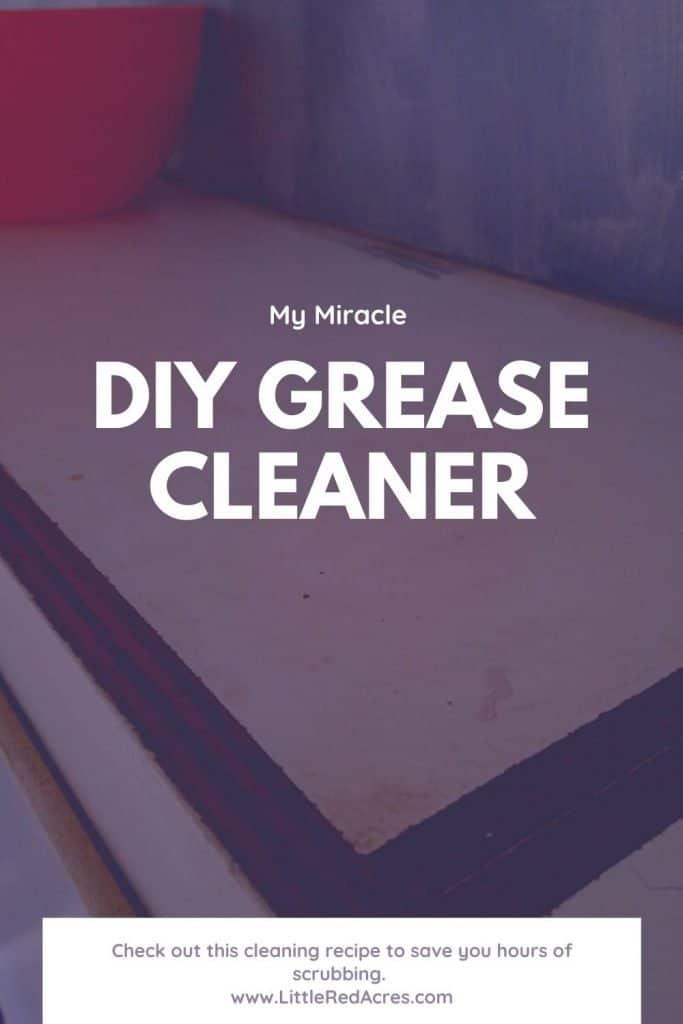 DIY Grease Cleaner