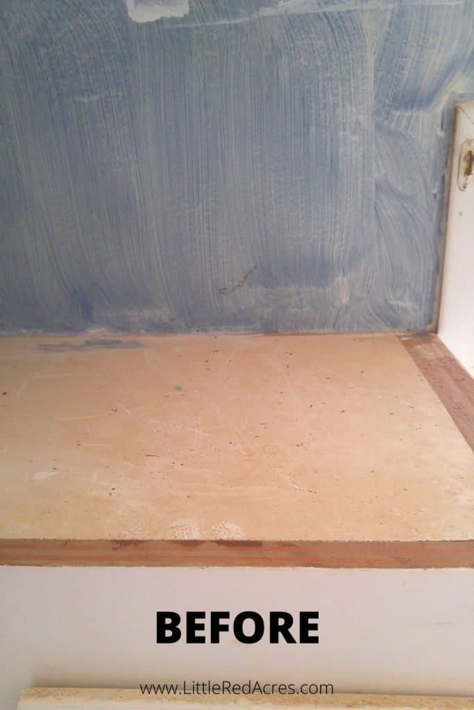 DIY Grease Cleaner - before picture