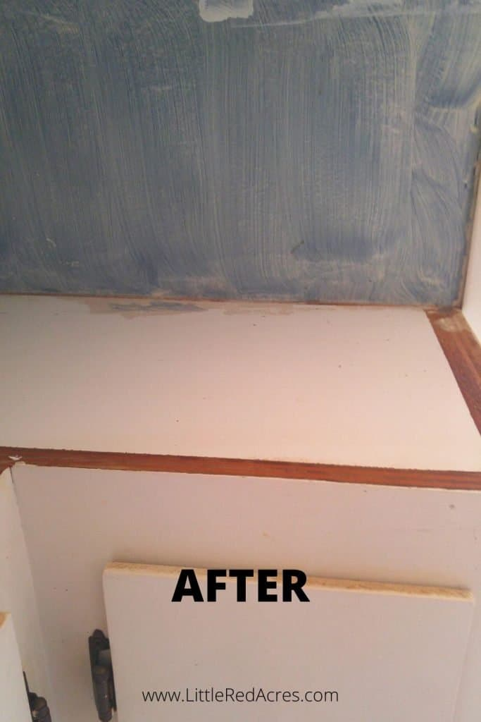 DIY Grease Cleaner - after