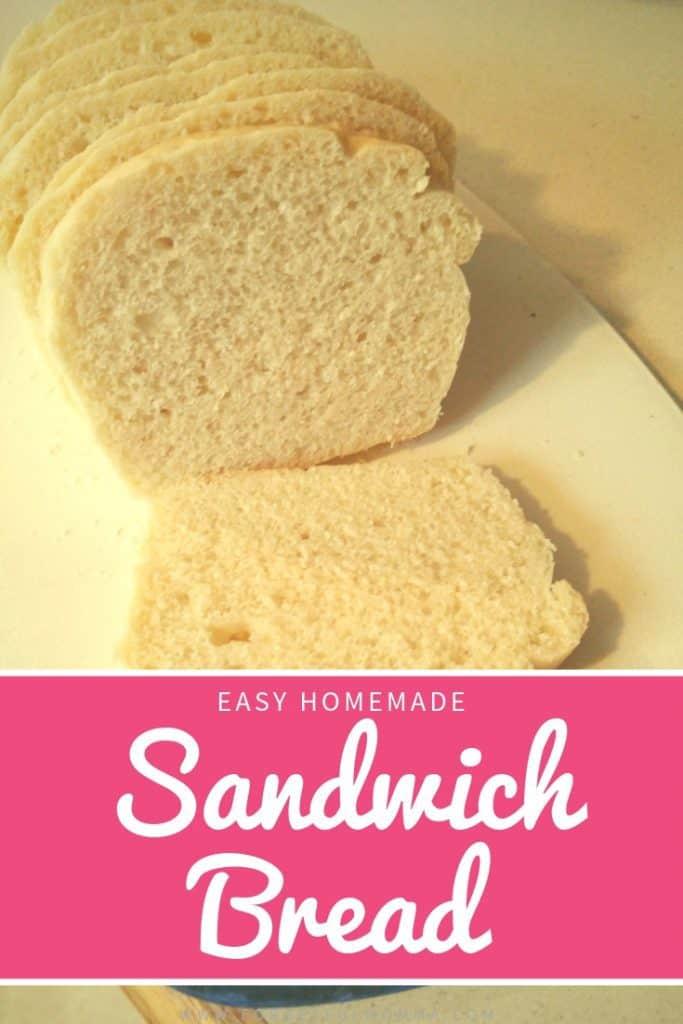 Easy Sandwich Bread