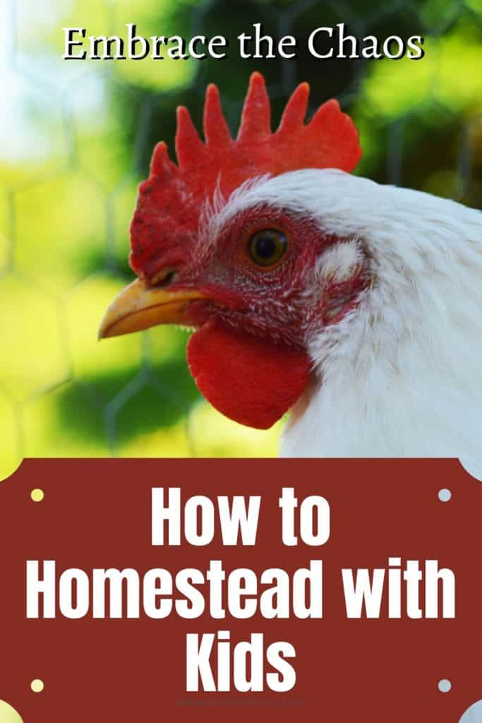 How to Homestead with Kids.